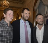 Wallaby coach, Michael Cheika, spoke at the first Sydney RBN event for the year, in February 2016.